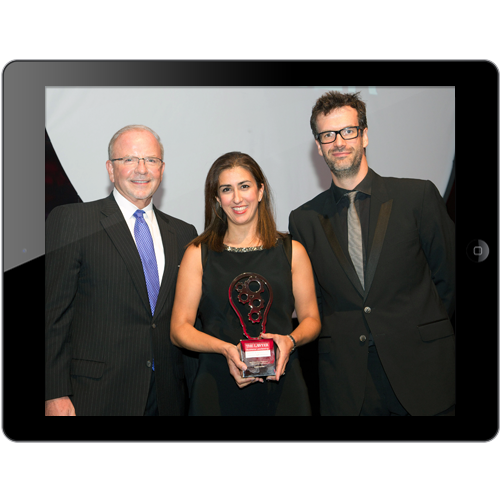 Accutrainee winning award