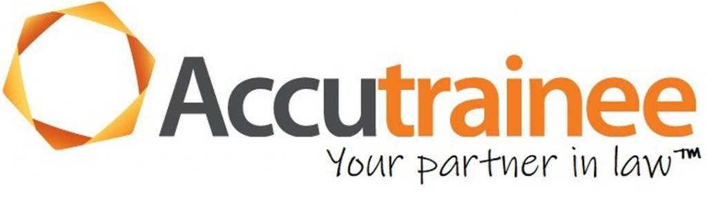 Accutrainee logo - Your partner in law